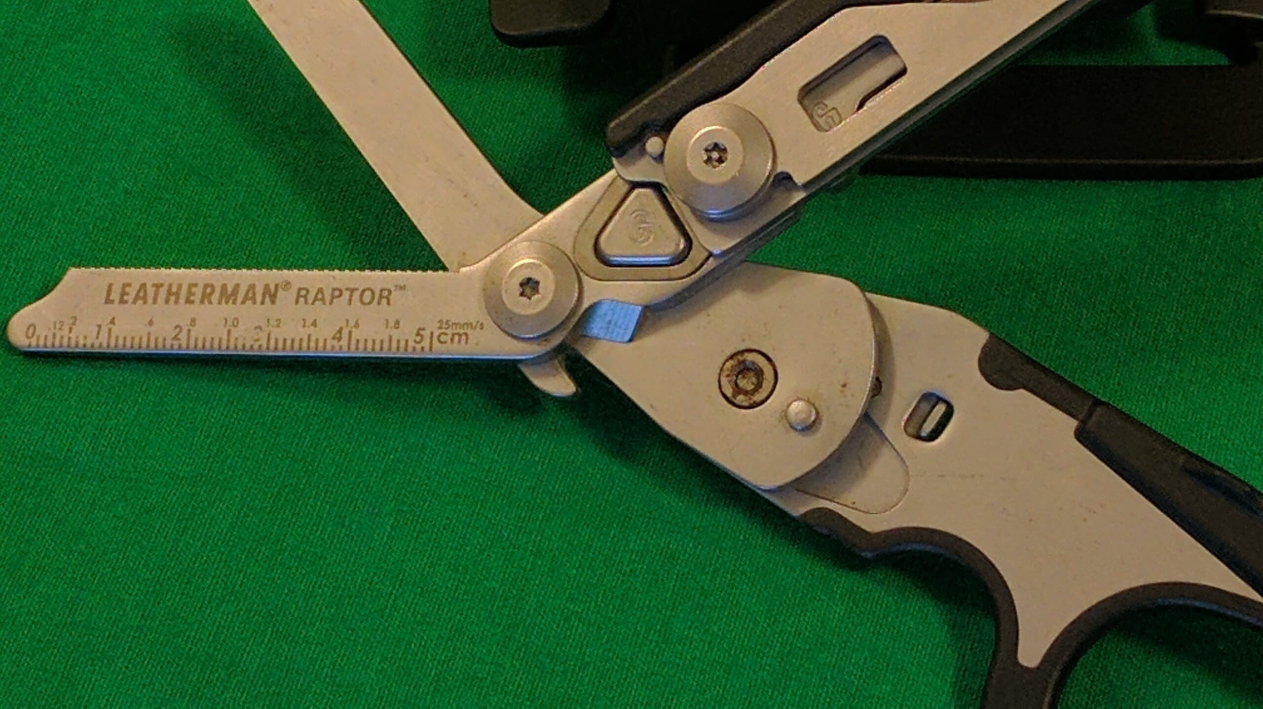 Raptor Ring Cutter and Ruler